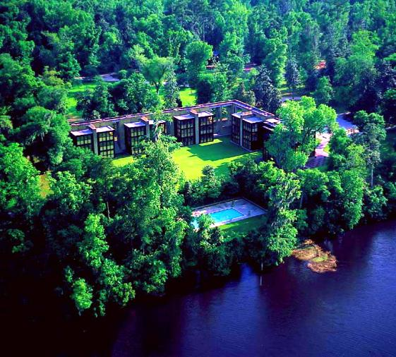 Middleton Inn aerial shot