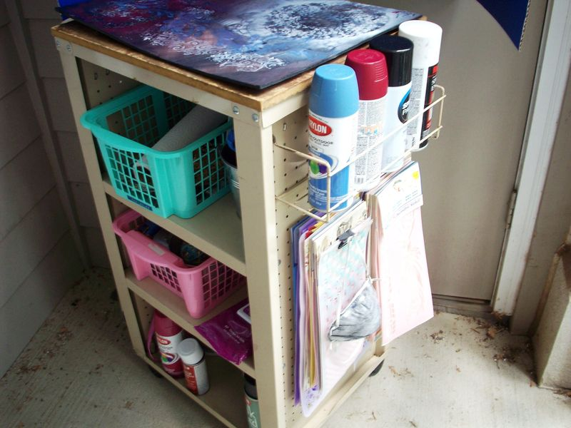 Spray Paint Work Station 003