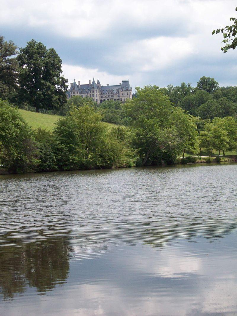 Distant Lake View w'Reflection 2