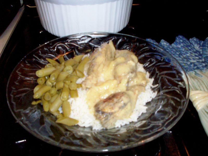 Honey Mustard Chicken Plated 2