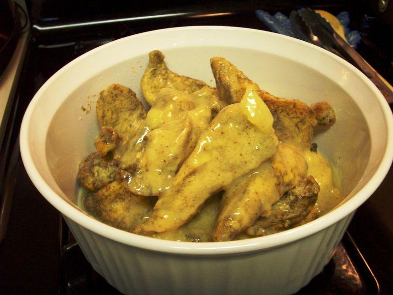 Honey Mustard Chicken 2