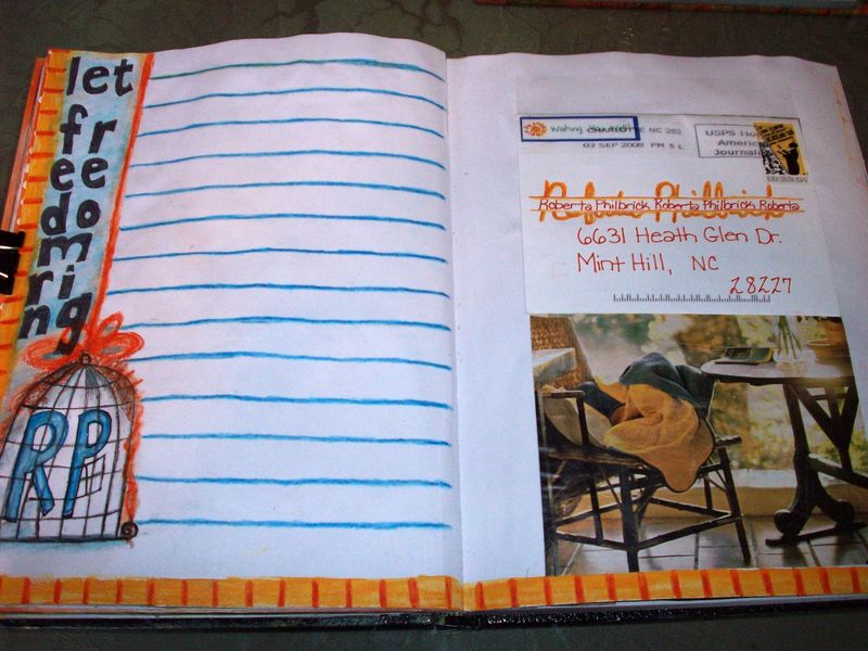 TM Summer Art Journal Day 11 Note to Self