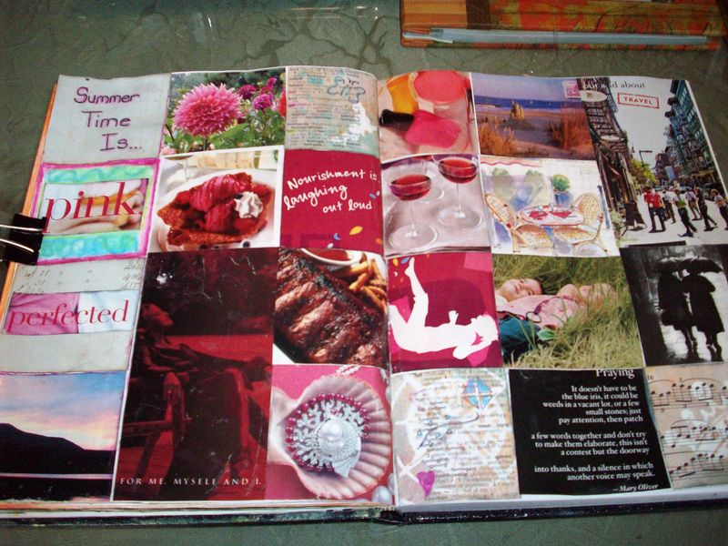 TM Summer Art Journal Day 12 Journal Squares