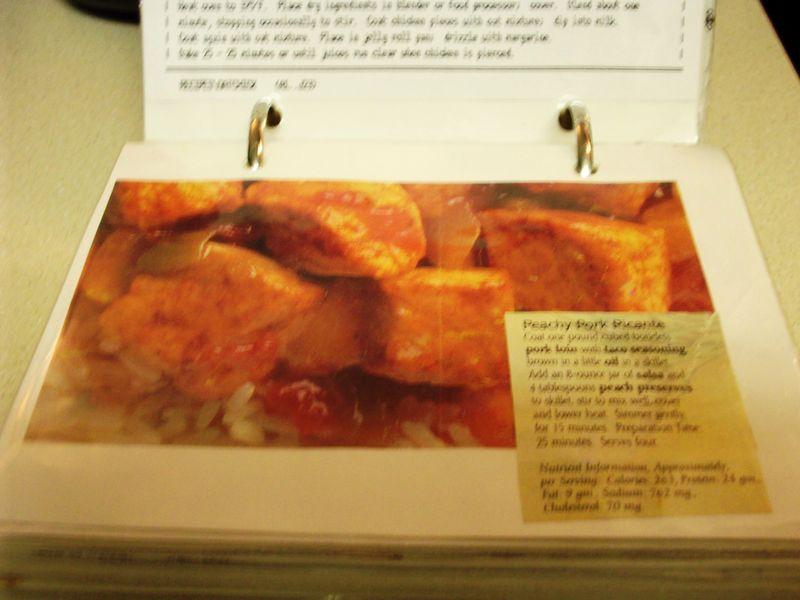 1. Peachy Pork Picante