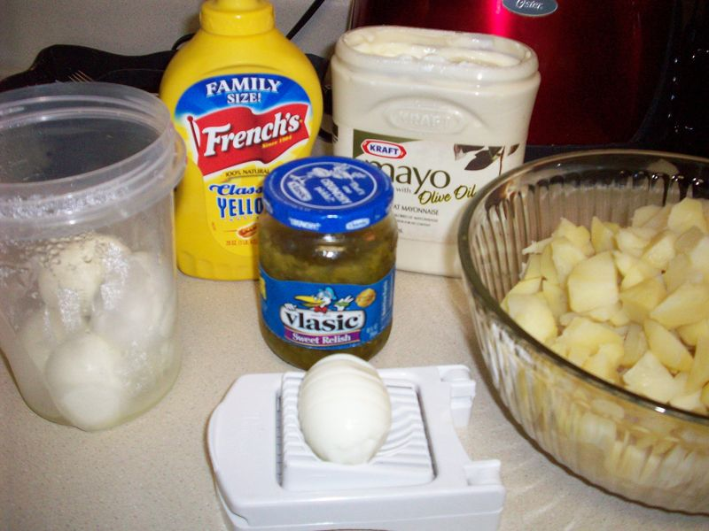 6. Ingredients Gathered