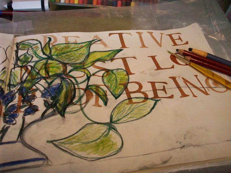 05. Day 8 Watercolor Pencils