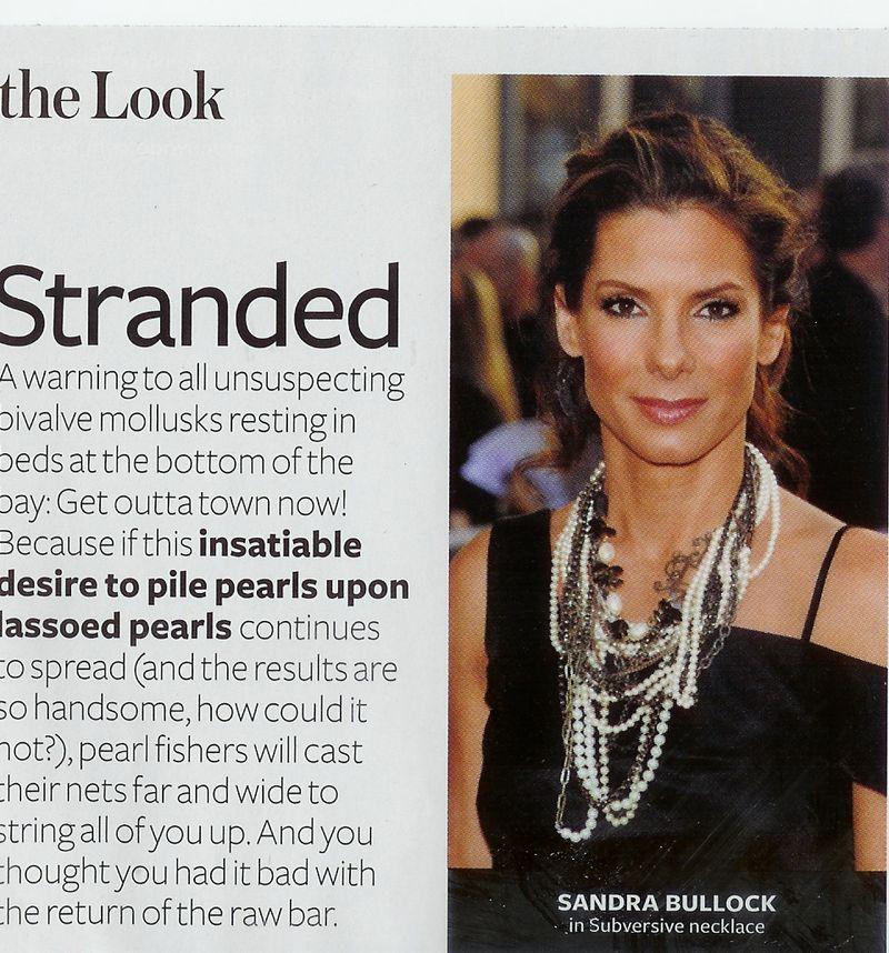 02. Day 12 Inspiration Stranded Sandra Bullock