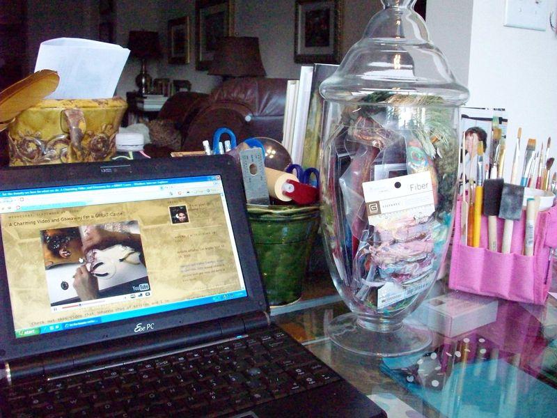 01. Day 12 Inspiration Fiber Jar