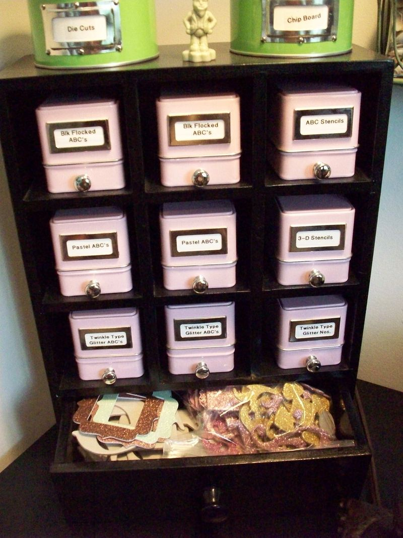 08. Day 13 ABC Chipboard Storage