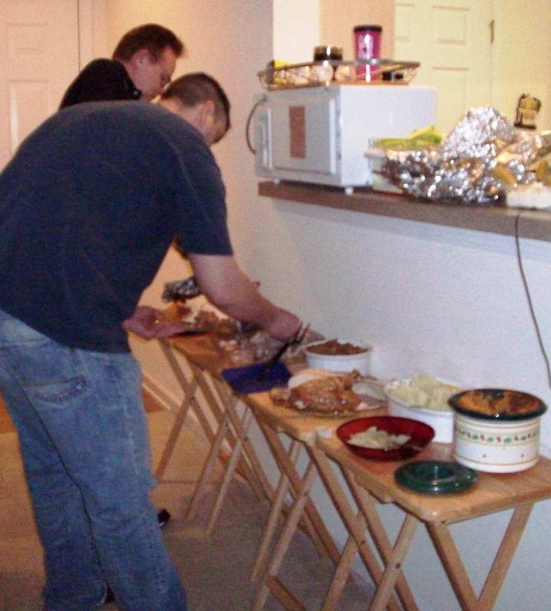 The buffet thanksgiving 2009