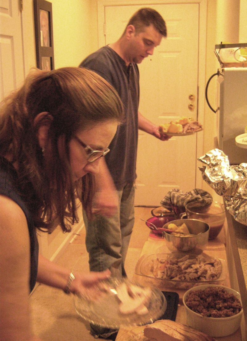 Bobbi & mitchell thanksgiving
