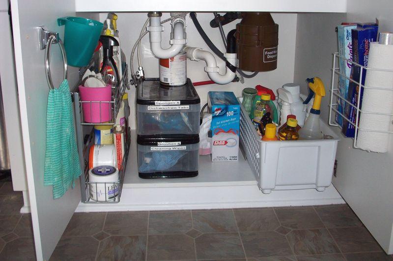 13. Under sink cabinet