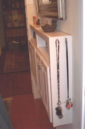 05. Foyer Key Hooks