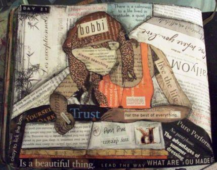Bobbi Art Journal Collage