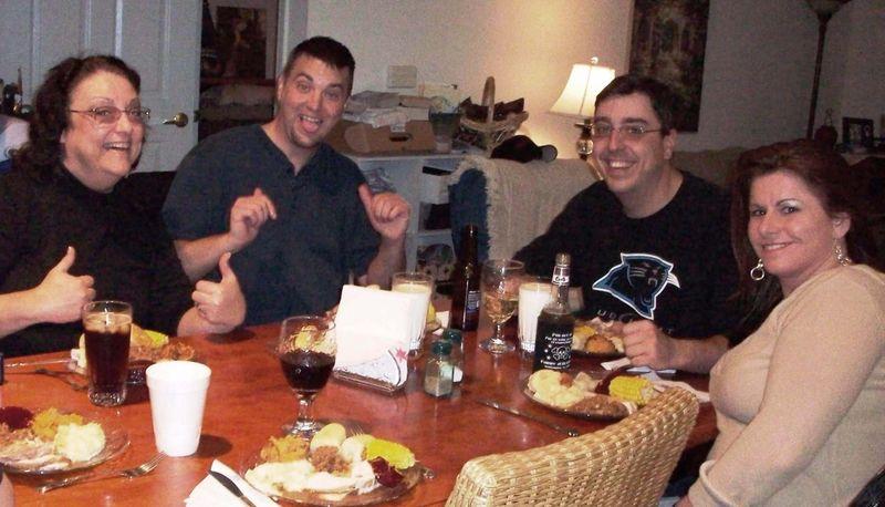 Goofing around thanksgiving 2009