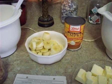 03. Bananas n' Pumpkin