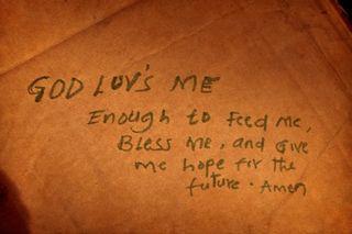 Copy of God Luv's Me Enough