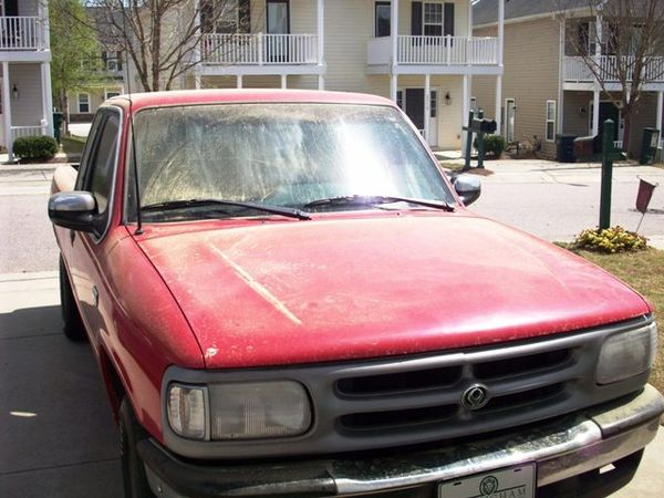 02. Truck Green Pollen