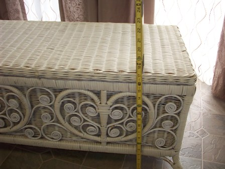 03. Wicker Hope Chest Measurments