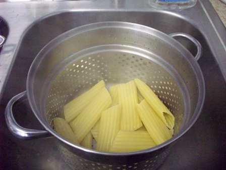 08. Drain Pasta