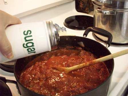 10. Add Sauce & Sugar