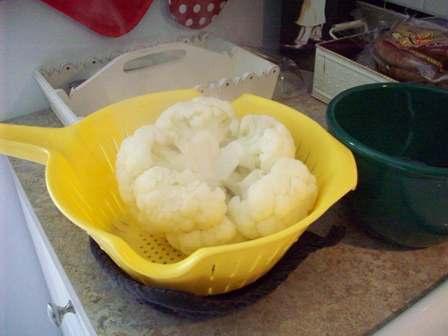 06. Drain Cooked Vegies