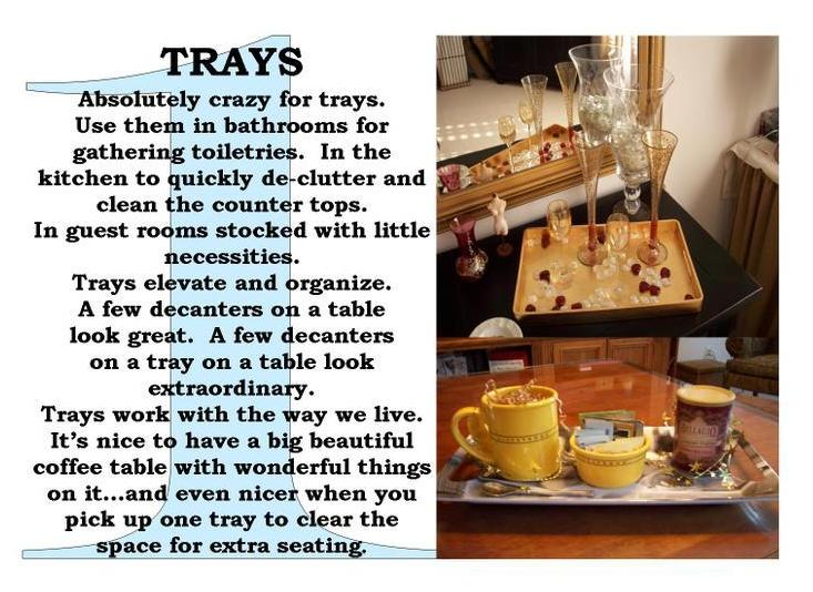 Trays Page