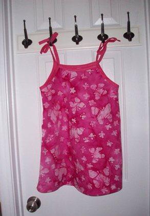 23. Dress Hung Up