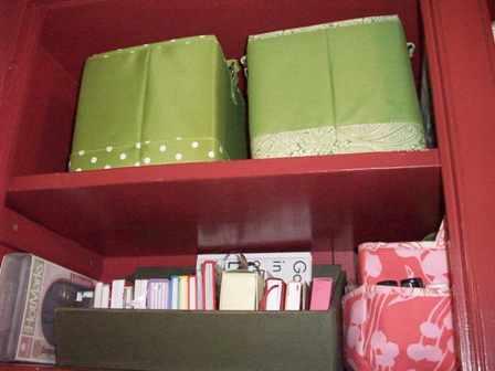 29. Green Vinyl Baskets