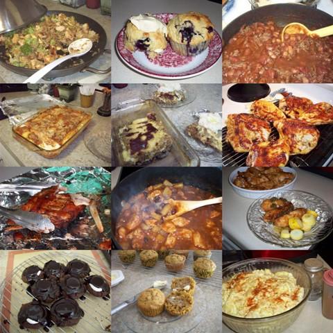 42. Food Moasic