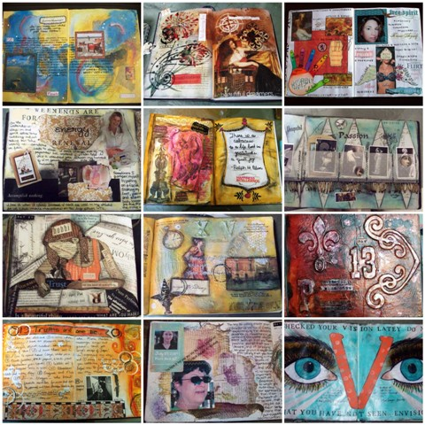 10. Journal Page Mosaic