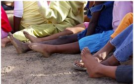 Samaritan's feet photo