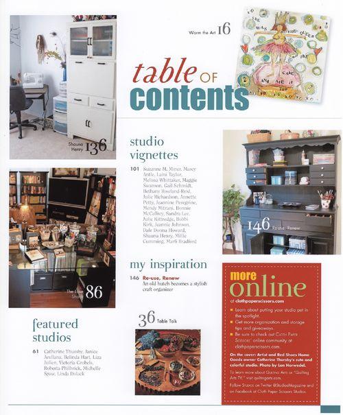 STUDIOS Contents 002