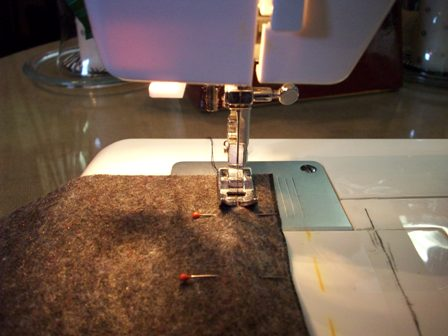 09. Sew 2nd Side Seam