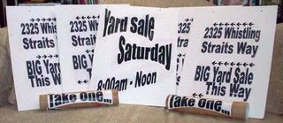 01. Comp Yard Sale Signs