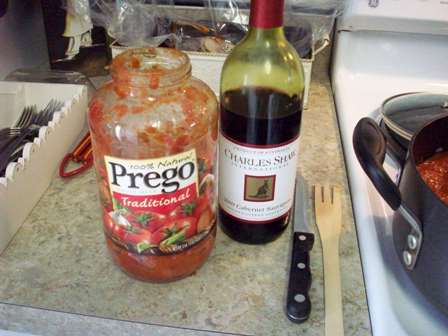 11. Add Wine to Jar