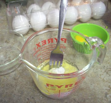 03. Mix Starch n'Eggs