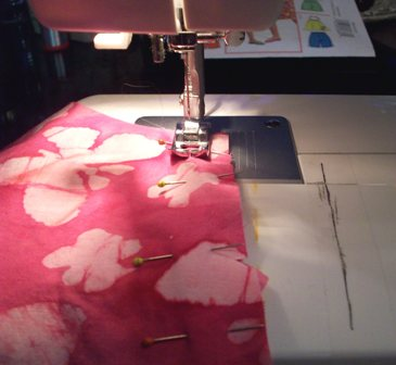 05. Sew side seams