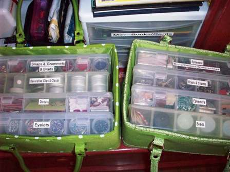 30. Floss Caddy Organizers