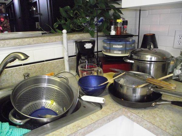 11. clean kitchen sink