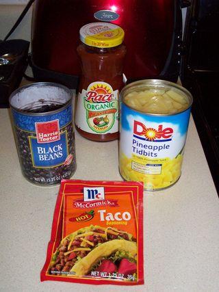 1. Chicken Picante Ingredients