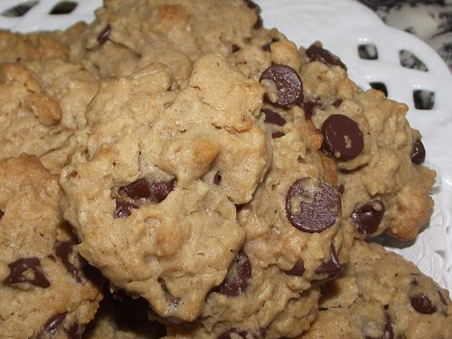 13. Chewy Choc PB Oat Cookies
