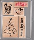 08. Christmas Peace #9190 5 pcs $4.00