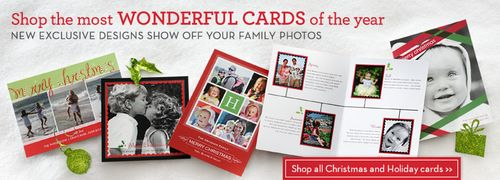 Shutterfly Photo Christmas Cards