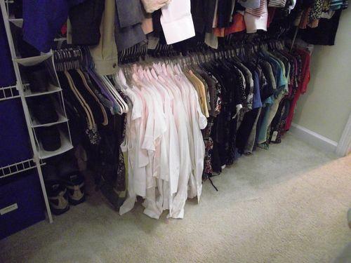 01. Closet BEFORE Summer Blouses