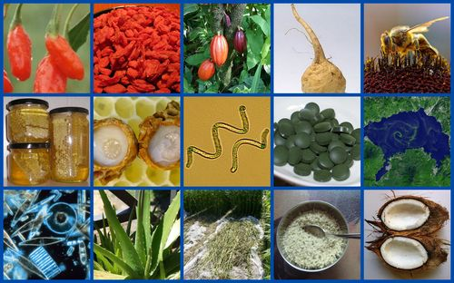 Superfoods Mosaic