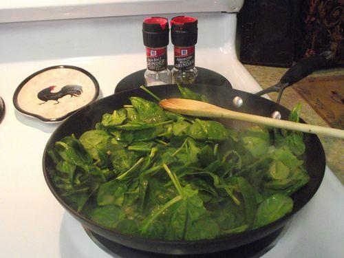 05. Add Spinach