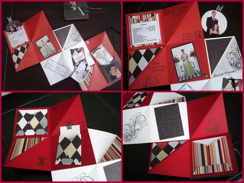 10. Pop Up Book Collage