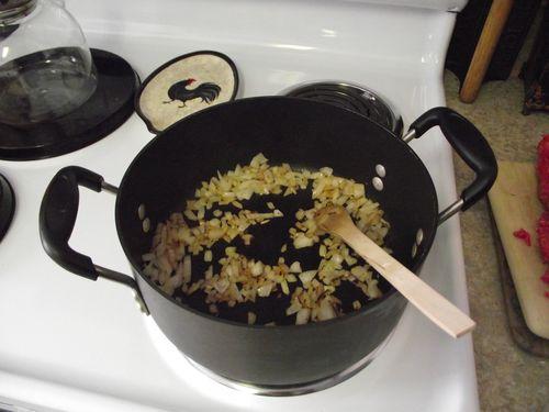 03. Saute Onions