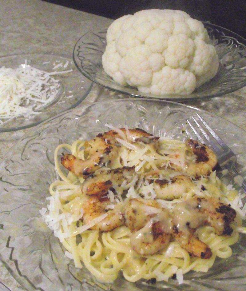 09. Serve w'cheese n'cauliflower